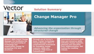 Vector Change Manager Pro Brochure