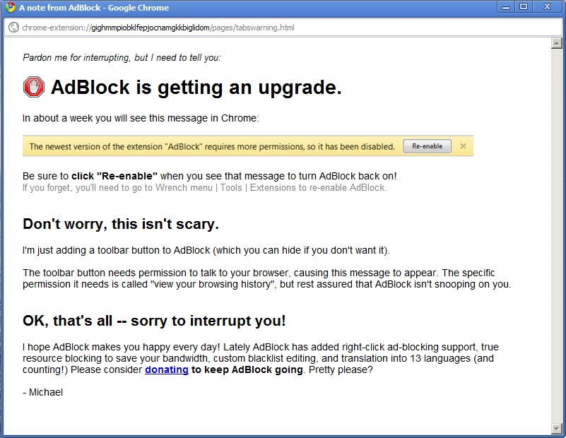 AdBlock is getting an upgrade